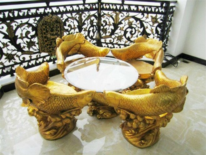 4 đại gia Việt giàu kếch xù, mạnh tay bỏ ra hàng trăm tỷ đồng xây biệt thự dát vàng - 3
