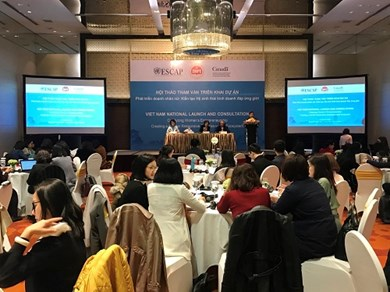 The Vietnam Women Entrepreneurs Development Project attracts much social attention