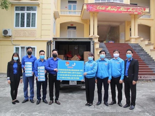 Chung tay hỗ trợ nhân dân Bình Xuyên (Vĩnh Phúc) phòng, chống dịch bệnh Covid -19