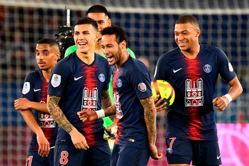 Paris Saint-Germain vẫn duy trì sức mạnh ở giải quốc nội