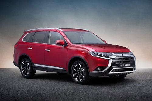Mitsubishi Outlander 2020.