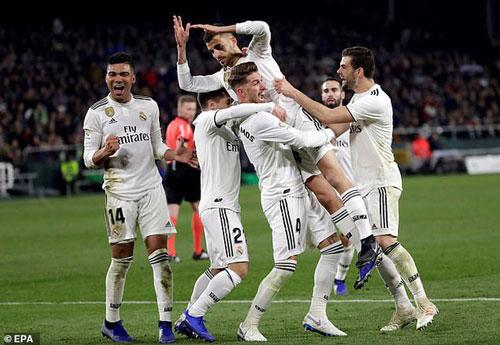Không có Ronaldo, đội bóng Hoàng Gia Tây Ban Nha vẫn sở hữu đội hình lên tới 1,08 tỷ euro