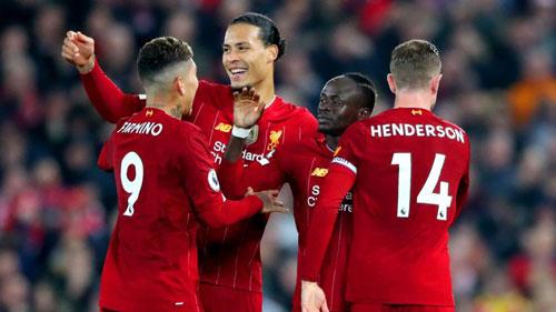 Liverpool đang thể hiện sức mạnh vượt trội so với phần còn lại ở Premier League