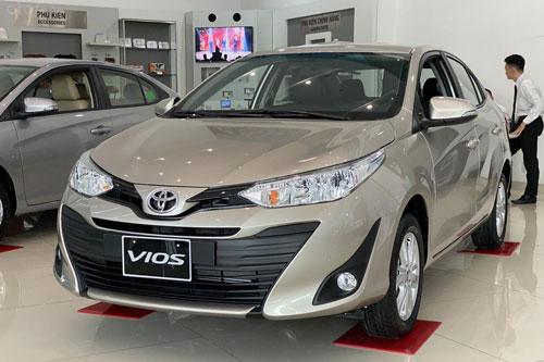 Toyota Vios bị Hyundai Accent vượt mặt. Ảnh: Oto.com.vn.