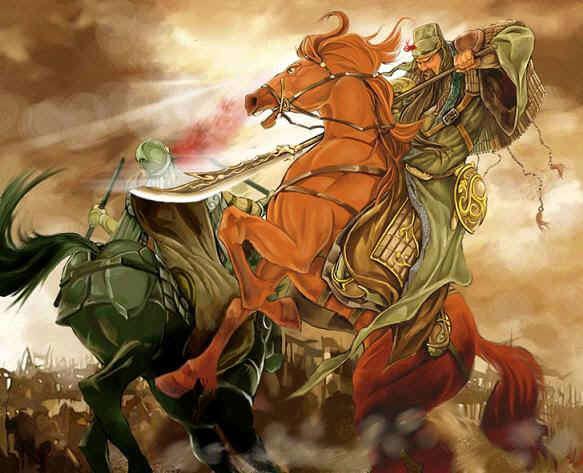 Quan Vũ và con ngựa xích thố nổi tiếng