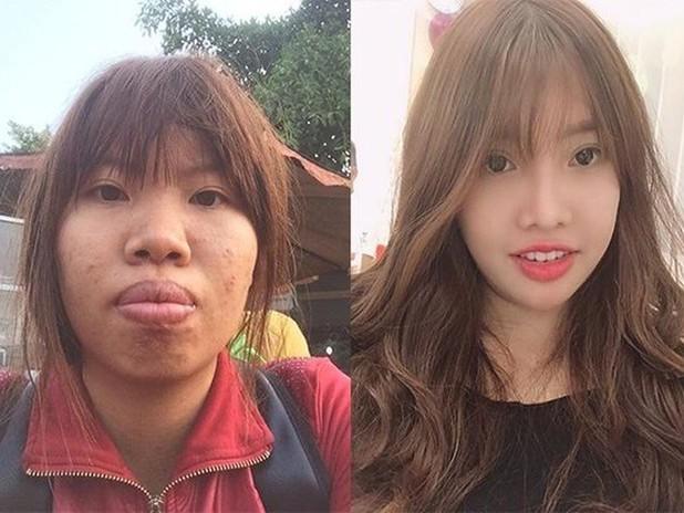"""4 năm trước, Quách Phượng (Quách Thị Kim Phượng, SN 1995, quê ở Đăk Nông) gây chú ý với cộng đồng mạng khi có màn """"lột xác"""" hết sức ngoạn mục. Trước đó, gương mặt của cô từng bị nhiều người ác ý ví như Thị Nở."""
