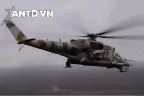 Trực thăng Mi-24P của không quân Nga