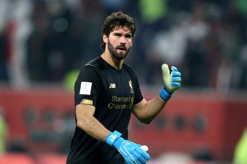 Thủ môn: Alisson Becker (Liverpool).