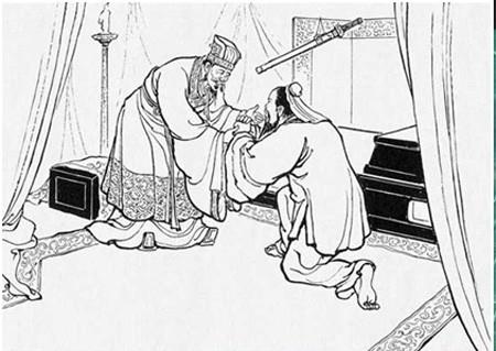 """""""Nghe Hứa Du đến, Tào Tháo mừng quá không kịp đi giày, thụp xuống bái lạy"""""""