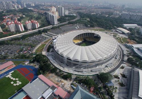 Thánh địa Bukit Jalil của ĐT Malaysia thay đổi mặt cỏ trước trận gặp ĐT Việt Nam