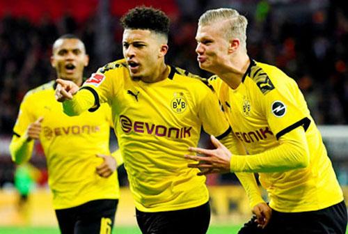 Dortmund sở hữu dàn cầu thủ trẻ thi đấu ấn tượng.