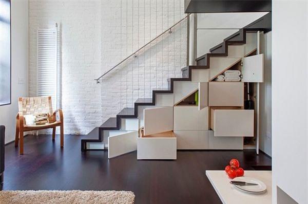Thiết kế nội thất thông minh cho nhà vô cùng độc đáo và tiện lợi - ảnh 4