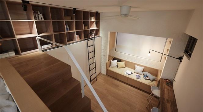 Thiết kế nội thất thông minh cho nhà vô cùng độc đáo và tiện lợi - ảnh 6