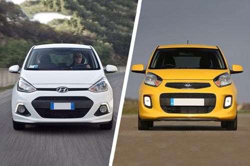 So sánh Hyundai Grand i10 với Kia Morning: Chọn xe hạng A nào?