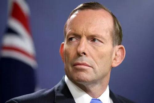 Cựu Thủ tướng Australia Tony Abbott. (Ảnh: Sky News Australia)