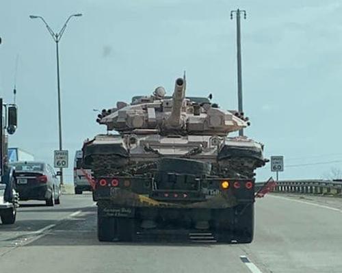 Sự thật không ngờ về xe tăng T-90 xuất hiện tại Mỹ