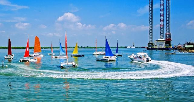 Bến thuyền Vũng Tàu Marina đã trở thành điểm tham quan, vui chơi hấp dẫn của người dân địa phương và du khách.