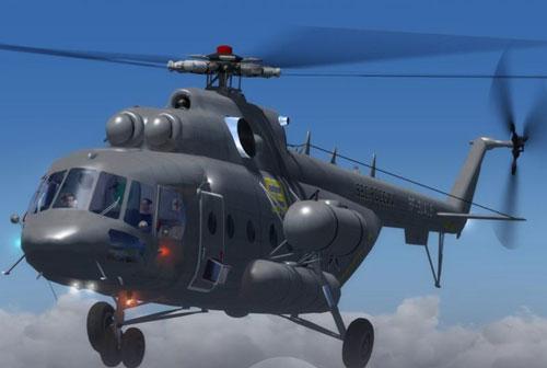 Trực thăng nào của Syria vừa bị bắn tan xác trên không