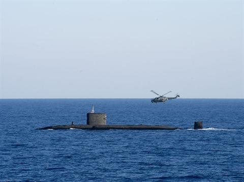 Tàu ngầm hạt nhân Anh.