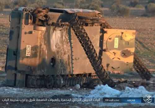 Xe bọc thép ACV-19 bị bắn hạ