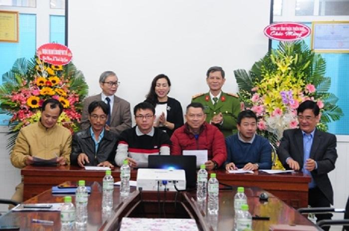 Các doanh nghiệp ký kết quy chế phối hợp