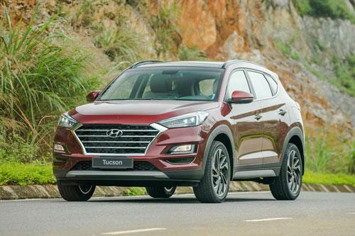 Hyundai Tucson. Ảnh: TC Motor.