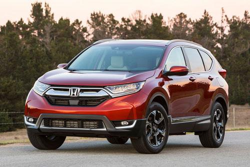 Honda CR-V bị Hyundai Tucson vượt mặt.