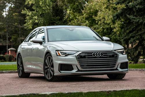 6. Audi A6 2019 (giá khởi điểm: 55.095 USD).