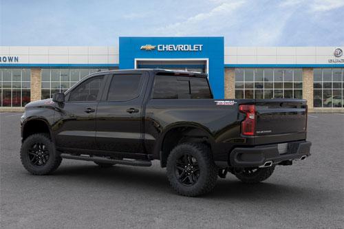 6. Chevrolet Silverado 1500 LT Trail Boss 2020 (giá khởi điểm: 50.095 USD).