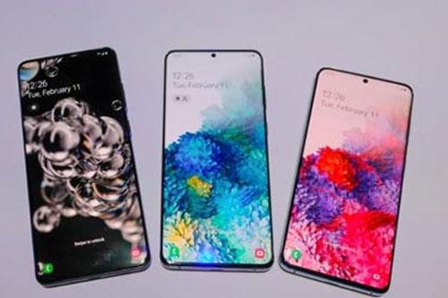 Bộ 3 Samsung Galaxy S20.