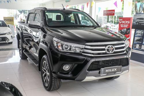 Toyota Hilux (doanh số: 152.611 chiếc).