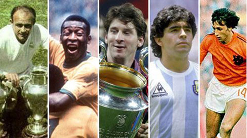 "Từ Pele, Di Stefano đến Cruyff, Messi hãy nhớ ""yêu nhau lắm, cắn nhau đau"""