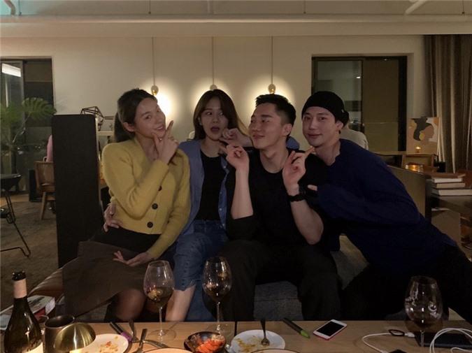 Chi Pu đã sang Hàn vào đầu tháng 2 để gặp gỡ hội bạn của người yêu tin đồn.