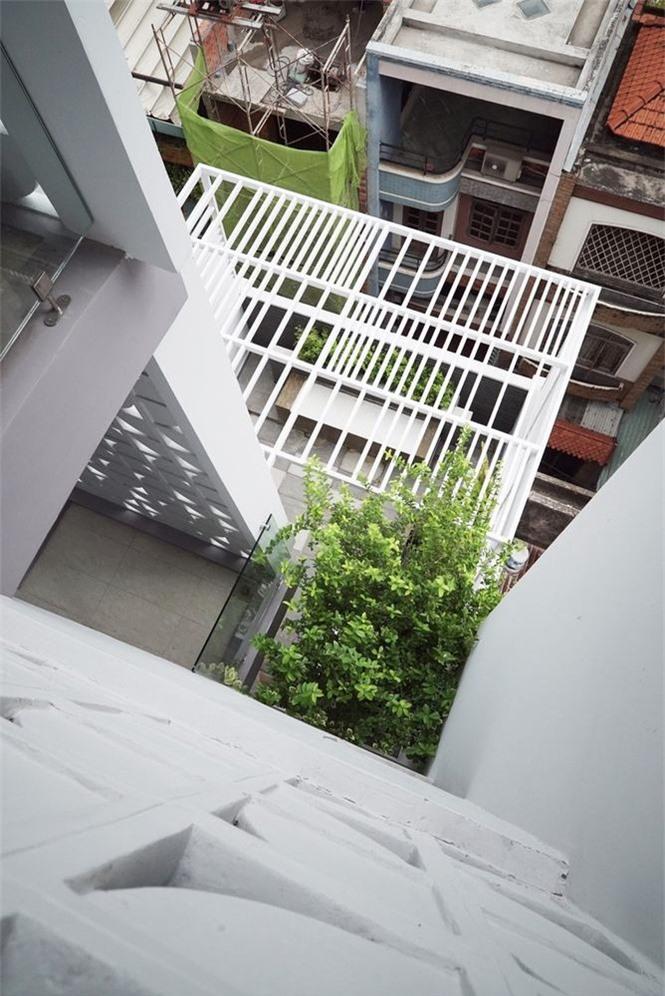 Nhà phố nhỏ hẹp ở Sài Gòn siêu sáng tạo, đẹp hút hồn - ảnh 4