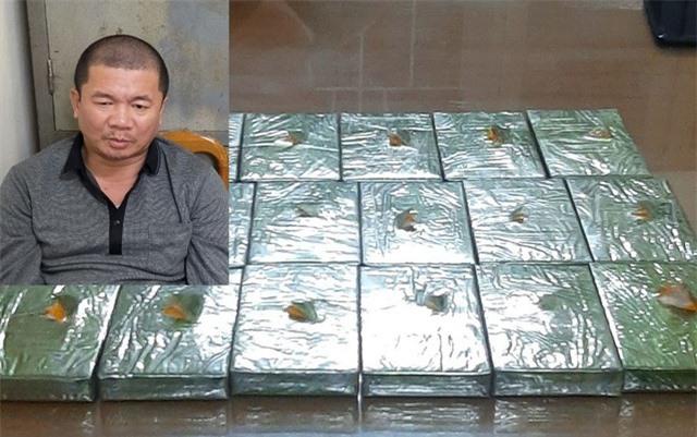 Phá án ma túy, bắt đối tượng ôm 17 bánh heroin lên tàu Bắc - Nam - 1