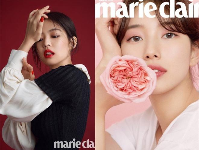 Vừa tung bộ ảnh tạp chí mới, Suzy đã bị tố bắt chước kiểu môi hở răng lạnh của Jennie (BLACKPINK): Liệu có đúng là copy? - Ảnh 6.