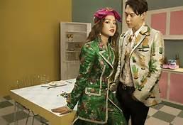 Chi Pu và nam diễn viên Jin Ju Hyung