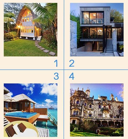 Bạn chọn ngôi nhà nào?