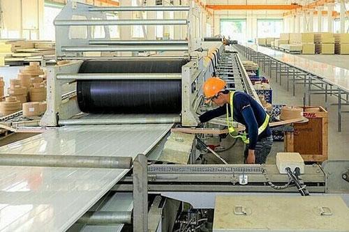 Công xưởng sản xuất panel cách nhiệt công nghệ châu Âu tại Tp.HCM. Ảnh: Quỳnh Trần.
