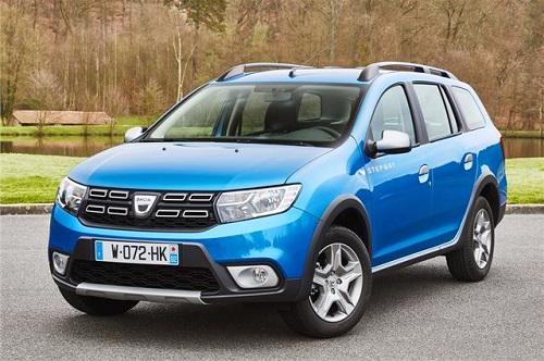 2. Dacia Logan MCV Stepway (giá khởi điểm: 11.648 bảng).