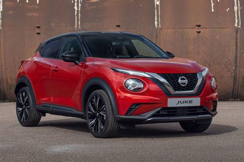 4. Nissan Juke (giá khởi điểm: 12.692 bảng).