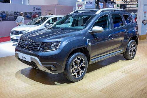 6. Dacia Duster (giá khởi điểm: 9.245 bảng).