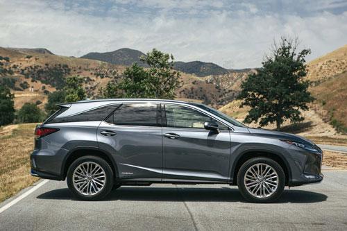 SUV hạng sang cỡ trung: Lexus RX 2020 (giá khởi điểm: 44.150 USD).