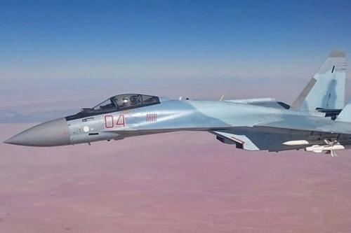 Su-35 Nga lại vừa đánh chặn F-16 Thổ Nhĩ Kỳ trên bầu trời Idlib