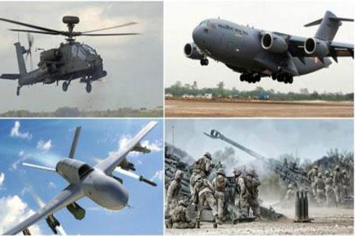 Ấn Độ đã mua nhiều loại vũ khí của Mỹ