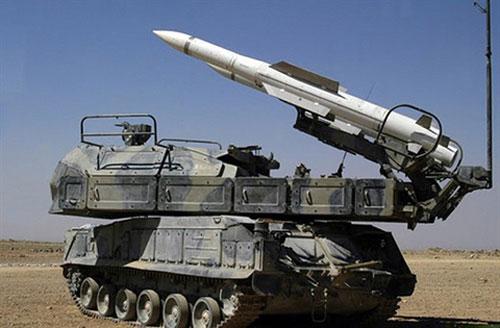 Hệ thống phòng không Buk-M2E của Syria đã bắn hạ nhiều tên lửa Delilah của Israel