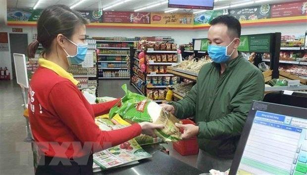 Bộ Y tế ra khuyến cáo phòng dịch COVID-19 tại các khu dịch vụ như trung tâm thương mại, siêu thị, khu du lịch. Ảnh: TTXVN