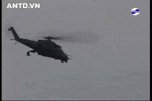 Không quân Syria tổn thất nghiêm trọng khi mất thêm 'xe tăng bay' Mi-25