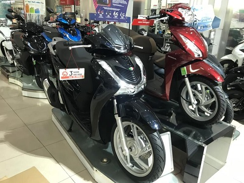 Mẫu Honda SH 2020 giảm chục triệu đồng so với trước Tết. (Ảnh: Ngọc Khánh).