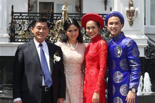 Những mỹ nhân Việt làm dâu gia tộc giàu có và bề thế - ảnh 1